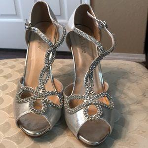 Bella Marie sequin heels